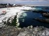 Verder naar het Noorden is het paradijselijk ogende Bahia de Inglesia. Vergis je niet, het water is nog steeds koud