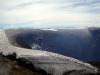 De krater van de Villarica. De eindbestemming van de beklimming.