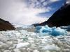 De gletsjer Grey is van een dusdanige schoonheid dat een enkele hiker er van op de knieën gaat om zijn vriendin ten huwelijk te vragen.