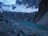 De naamgevers van het park zijn de Torres. Drie bijzonder gevormde rotspartijen. Hier gezien net voor zonsopgang.