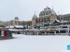 Het was tijd om onder het toezien oog van het Kurhaus te gaan snowkiten.