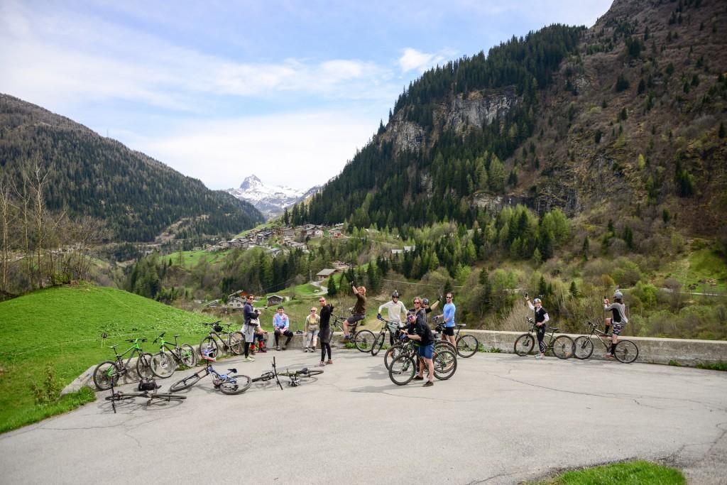 mountainbiken met de tomtom bandit